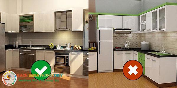 Xây nhà bếp theo phong thủy cần chú ý vị trí đặt bếp nấu