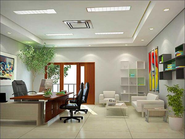 Cây xanh giúp mang lại vận khí tốt cho doanh nghiệp, văn phòng