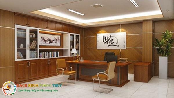Tranh sơn thủy món đồ phong thủy nên dùng trong văn phòng làm việc
