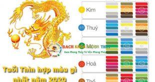Tuổi Thìn hợp với màu gì nhất? Phong thủy màu sắc tuổi Thìn 2020