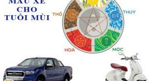 Tuổi mùi mua xe màu gì hợp phong thủy để tăng vận khí, làm ăn tấn tới