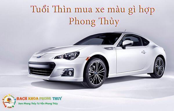 Tuổi Thìn (Bính Thìn, Canh Thìn, Mậu Thìn, Giáp Thìn) mua xe màu gì hợp?