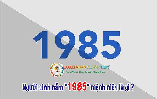 Cách tính tuổi ất sửu sinh năm 1985 mệnh KIM