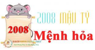 Nam nữ mạng sinh năm 2008 mệnh gì? Tuổi gì? hợp màu gì nhất