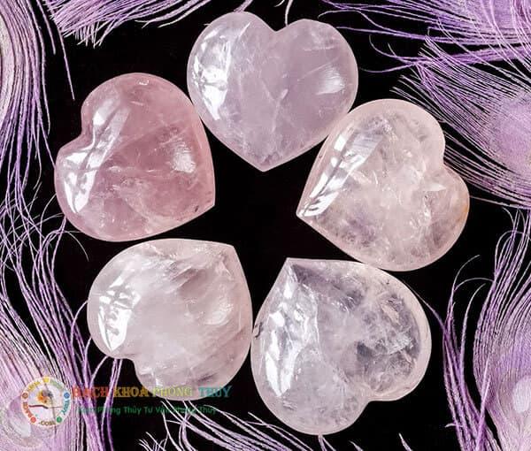 Thạch Anh hồng là loại đá Thạch Anh có nguồn năng lực tình duyên rất lớn
