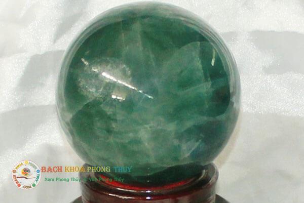 Đá Thạch Anh màu xanh được ví như lá bùa may mắn